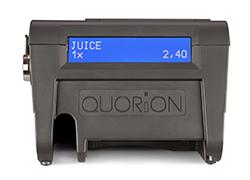 QTouch-8 Rückseite mit Kundenanzeige